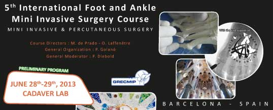 5th International Foot and Ankle Mini Invasive Surgery Course