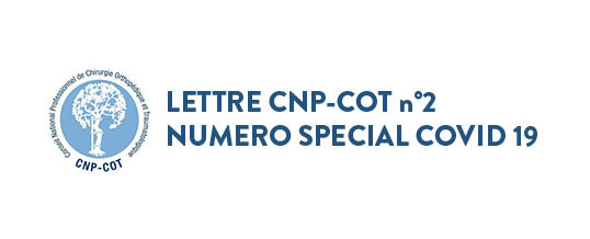 LETTRE CNP-COT n°2 – NUMERO SPECIAL COVID 19